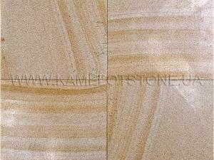 Купить Кварцито-песчаник (блок) - Кварцито-песчаник «Бежевый полированный»