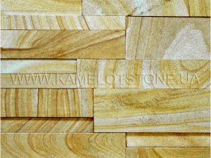 Купить Кварцито-песчаник (блок) - Кварцито-песчаник «Бастион шлифованный»