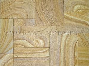 Купить Кварцито-песчаник (блок) - Кварцито-песчаник «Клинкер шлифованный»