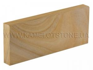 Купить Кварцито-песчаник (блок) - Кварцито-песчаник «Бордюр шлифованный» с фаской