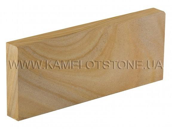 Кварцито-песчаник (блок) - Кварцито-песчаник «Бордюр шлифованный» с фаской Цена