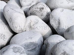 Купить Ландшафтный камень - Бут мраморный «BIANCO CARRARA»