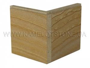 Купить Кварцито-песчаник (блок) - Кварцито-песчаник «Руст» (фаска 90°)