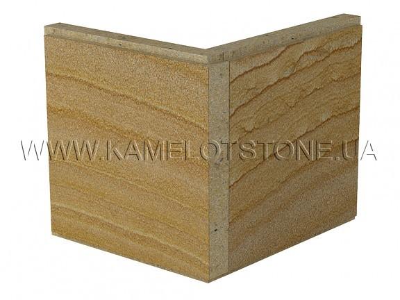 Кварцито-песчаник (блок) - Кварцито-песчаник «Руст» (фаска 90°) Цена