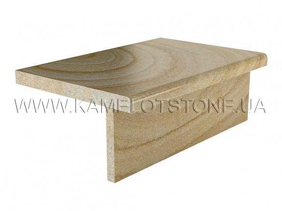 Кварцито-песчаник (блок) - Кварцито-песчаник «Ступень прямоугольная» Цена