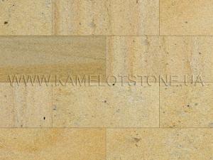Купить Кварцито-піщаник (блок) - Кварцито-песчаник «Плитка шлифованная фасадная» (без фаски)
