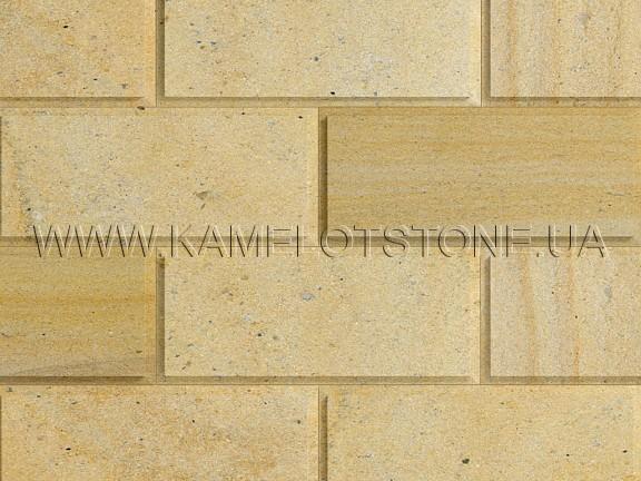 Кварцито-песчаник (блок) - Кварцито-песчаник «Плита шлифованная фасадная» (фаска 90°) Цена