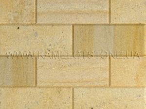 Купить Кварцито-песчаник (блок) - Кварцито-песчаник «Плита шлифованная фасадная» (фаска 45°)