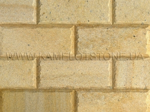 Купить Quartzite-sandstone - Кварцито-песчаник «Плита шлифованная фасадная» (скала)