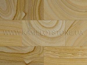 Купить Кварцито-песчаник (блок) - Кварцито-песчаник «Плитка шлифованная цокольная» (без фаски)