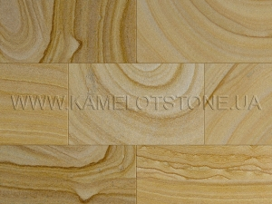Купить Кварцито-піщаник (блок) - Кварцито-песчаник «Плитка шлифованная цокольная» (без фаски)