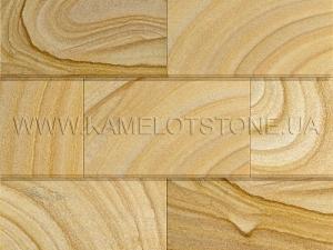Купить Кварцито-песчаник (блок) - Кварцито-песчаник «Плитка шлифованная цокольная» (фаска 90°)