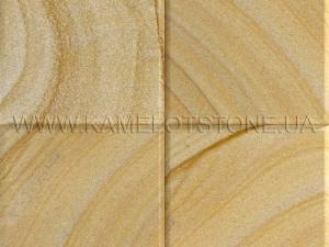 Купить Кварцито-песчаник (блок) - Кварцито-песчаник «Плитка шлифованная цокольная» (фаска 45°)