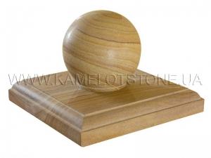 Купить  Кварцито-песчаник «Крышка для столбов»