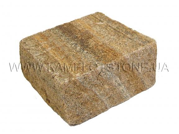 Песчаник (плашка) - Песчаник «Брусчатка Желтая» колотая Цена