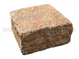 Купить  Песчаник «Брусчатка Охра» колотая