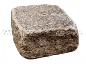 Купить  Песчаник «Брусчатка Охра» колотая и галтованная