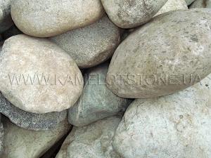 Купить Ландшафтный камень - Валун «Рябой» шар крупный