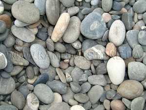 Купить Ландшафтный камень - Галька «Кремний»