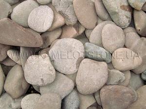 Купить Ландшафтный камень - Галька «Морская» синяя