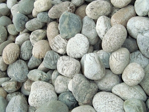 Купить Ландшафтный камень - Галька «Рябая» мелкая