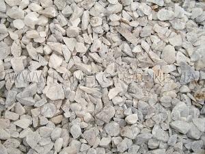 Купить Ландшафтный камень - Крошка «Мраморная» белая