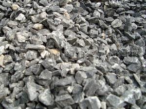 Купить Ландшафтный камень - Крошка «Мраморная» черная