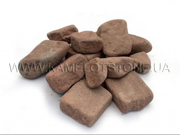 Ландшафтный камень - Галька «Марс» песчаник Цена