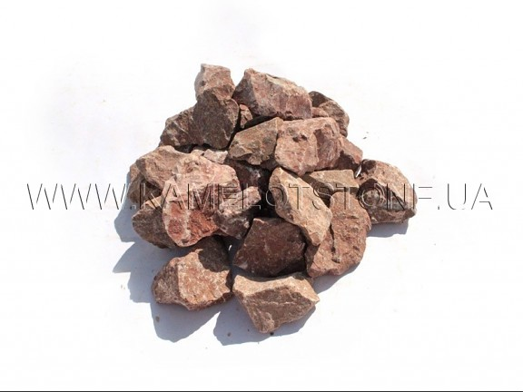 Ландшафтный камень - Крошка «Мраморная» розовая Цена