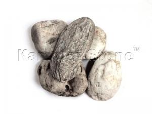 Купить Ландшафтный камень - Галька «Кремний» галтованный