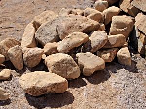 Купить Ландшафтный камень - Песчаник «Риф» галтованный