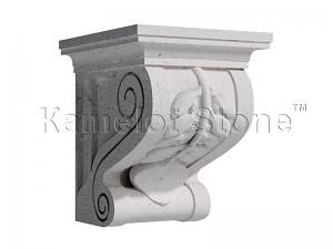 Купить Вапняк Бережан Білий - Известняк Бережан «Замковый камень»