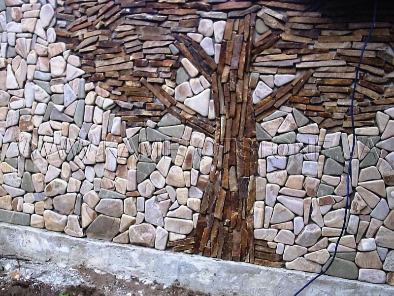 Cena naravnega kamna na delo