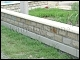 """Песчаник Галицкий (плашка) - Песчаник Галицкий серый """"Блок пролётный на забор"""" колотый Цена"""
