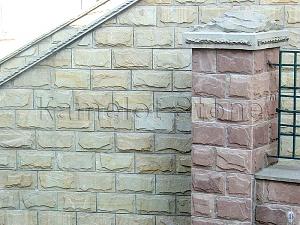 Фасады (фасадные системы) из натурального камня Kings'Stone. -