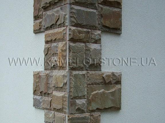 Декор из камня фасад дома